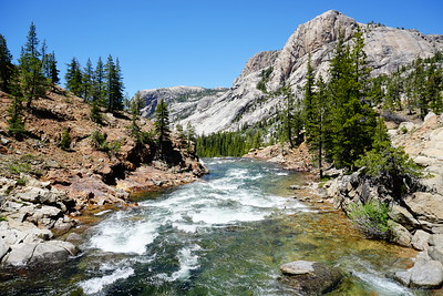 Waterwheel Falls/Grand Canyon Tuolumne River, June 2018