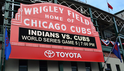 2016 World Series Game 5 - Wrigley Field