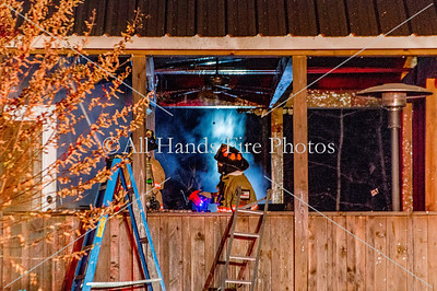 20171125 - Unincorporated Mount Juliet - House Fire