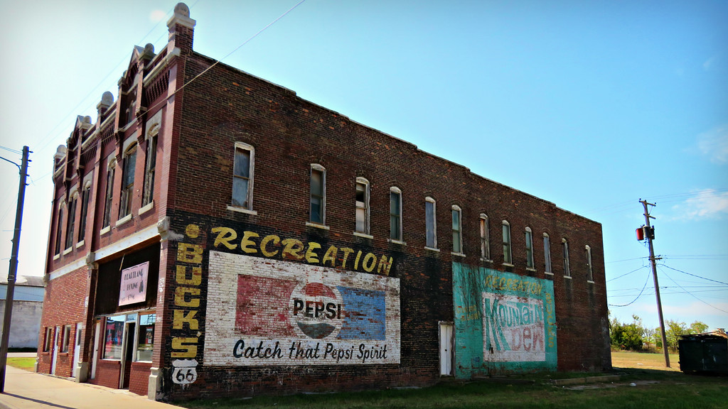 fuzzygalore galena ansas pepsi ghost sign