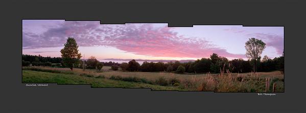Vermont- Panoramas