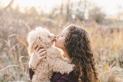 Julia and Coco at Wildwood Park
