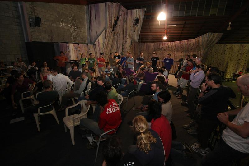 The first meeting of the Australian Climbing Association Queenland (ACA Qld)
