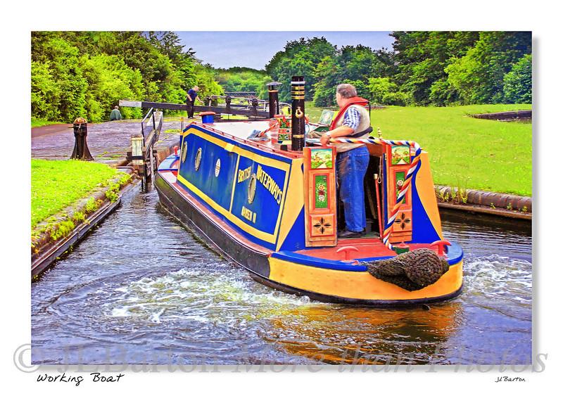 British Waterways Boat Around Dudley, I think