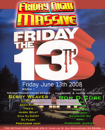 Friday Night Massive June 13