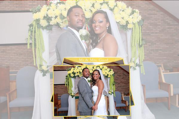Kenyatta & Xavres Good Wedding Day