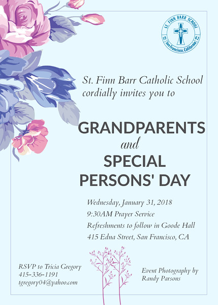 Grandparents/Special Persons' Day
