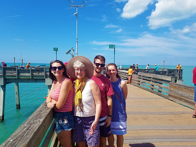 At Sharky's on Venice Beach, Venice, FL