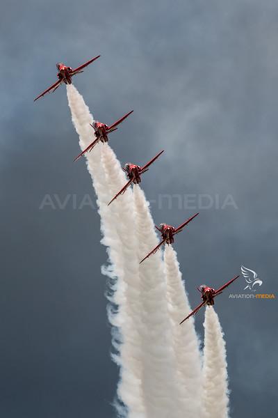 Royal Air Force / BAe Hawk T.1 / Red Arrows