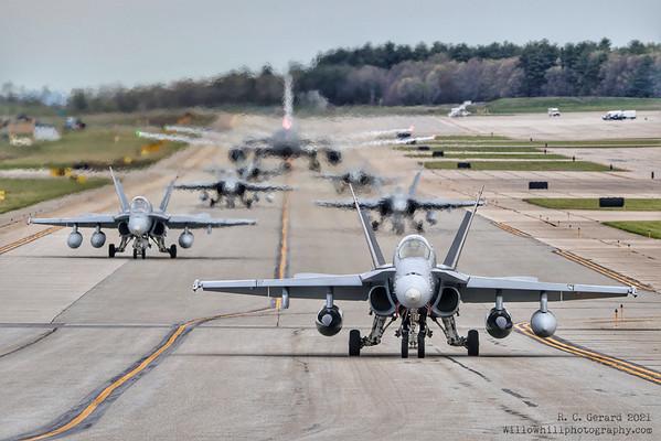 USMC F/A-18 Hornets