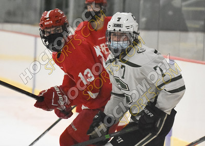 Canton - North Attleboro Boys Hockey 1-18-21