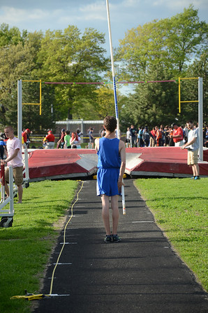 Boy's Pole Vault - 2014 Macomb Daily meet of Champions