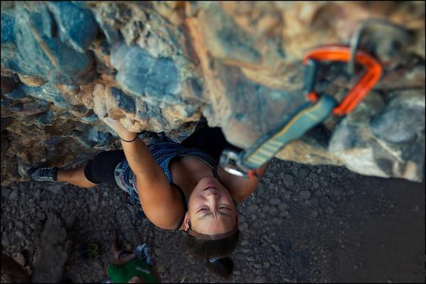 Climbing in Maple Canyon • Utah