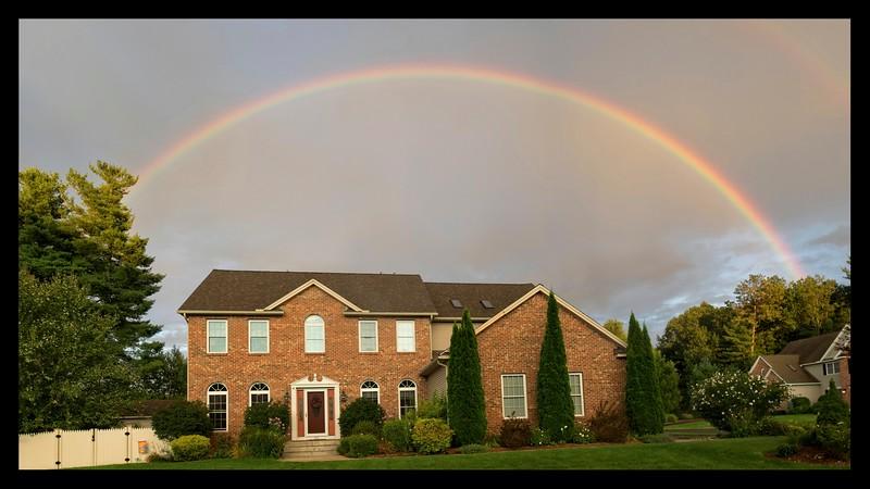 Rainbow over Westfield
