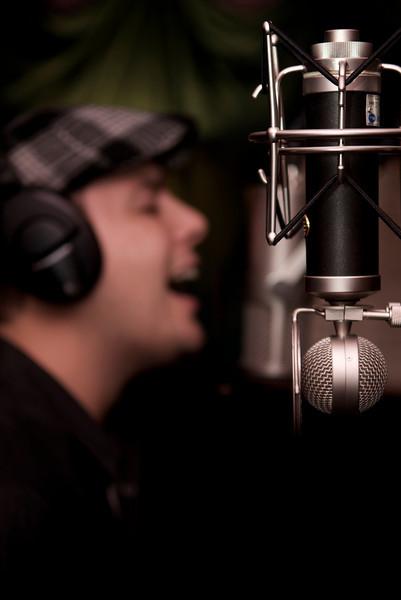 Matt Dionne in the Studio