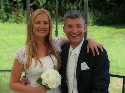 Erik and Karolina Van Weerden Wedding in colour