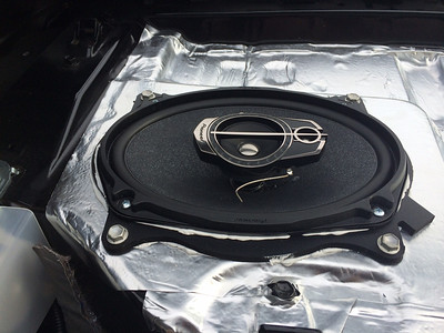 2012 Toyota Camry LE Speaker Installation - USA