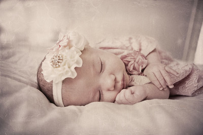 Baby Piper 2nd  Month Shoot