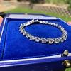 10.50ctw Round Brilliant Diamond Tennis Bracelet 13