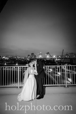 Noelle & Michael B/W Wedding Photos