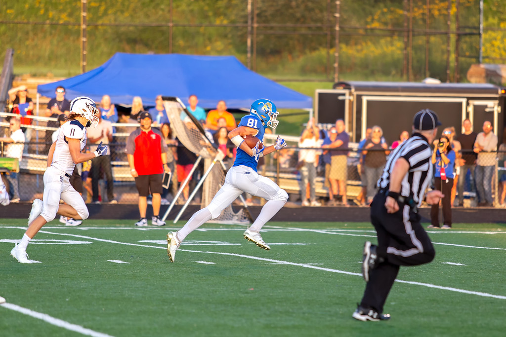 . Carrie Garland - The News-Herald Photos from West Geauga\'s game at NDCL Aug. 31. NDCL won, 42-7.