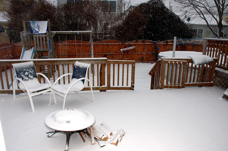 Saurday about 11:00am or so. A decent coating ...........
