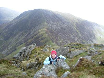 20050408 - Scrambling in Snowdonia