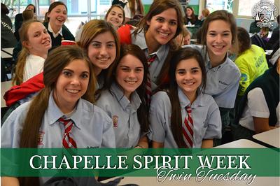 Spirit Week - Twin Tuesday