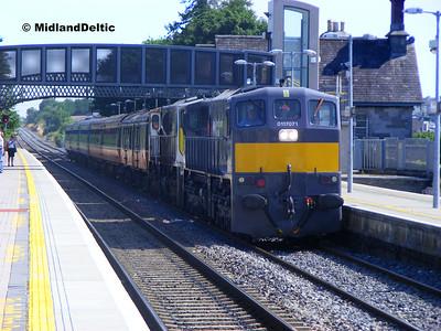 Portlaoise Station and Clonminam Bridge, 20-07-2013
