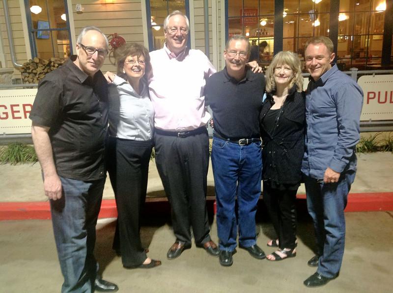 Mike Berman, Yvonne Donaldson, John Sweney, Bob Beach, Janet Dean, Brian Temple