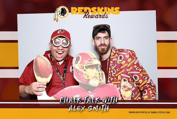 2018.04.11 - Washington Redskins - Chalk Talk with Alex Smith