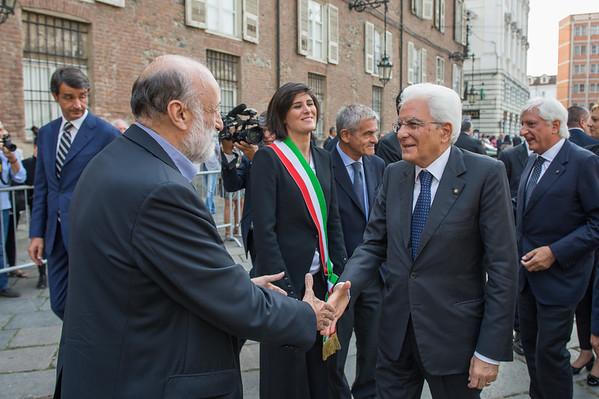 Il presidente Mattarella al Salone del gusto e Terra madre 2016