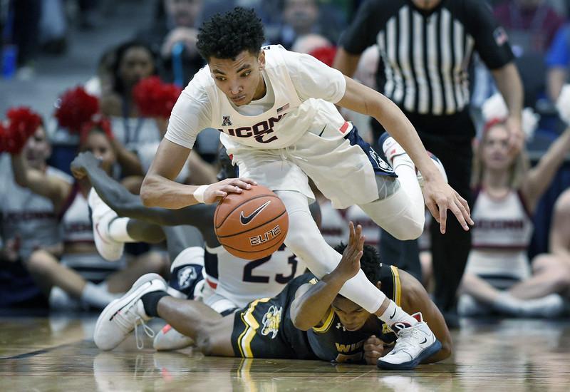 Wichita St UConn Basketball