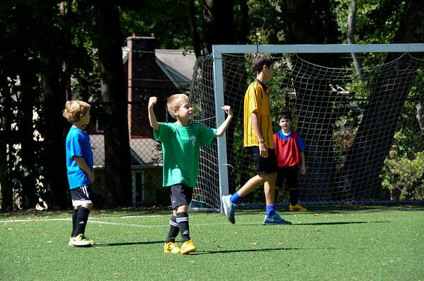 Rec Soccer 1st/2nd Grade Fall 2014