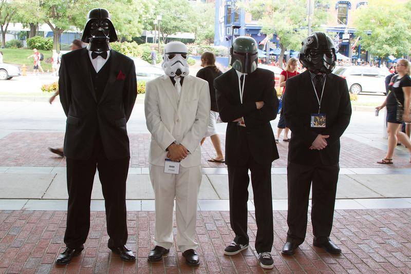 Tuxedo Star Wars