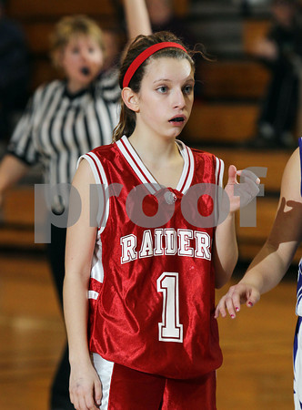 2013 Cameron County Girls JV Basketball @ Coudersport