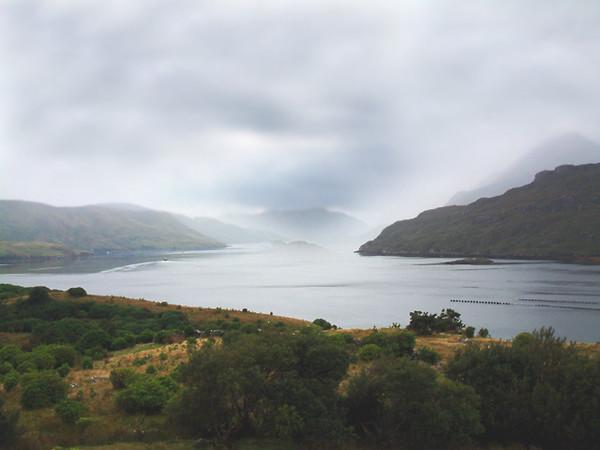 Connemara Country - Killary Harbour (Ireland's only fjord)