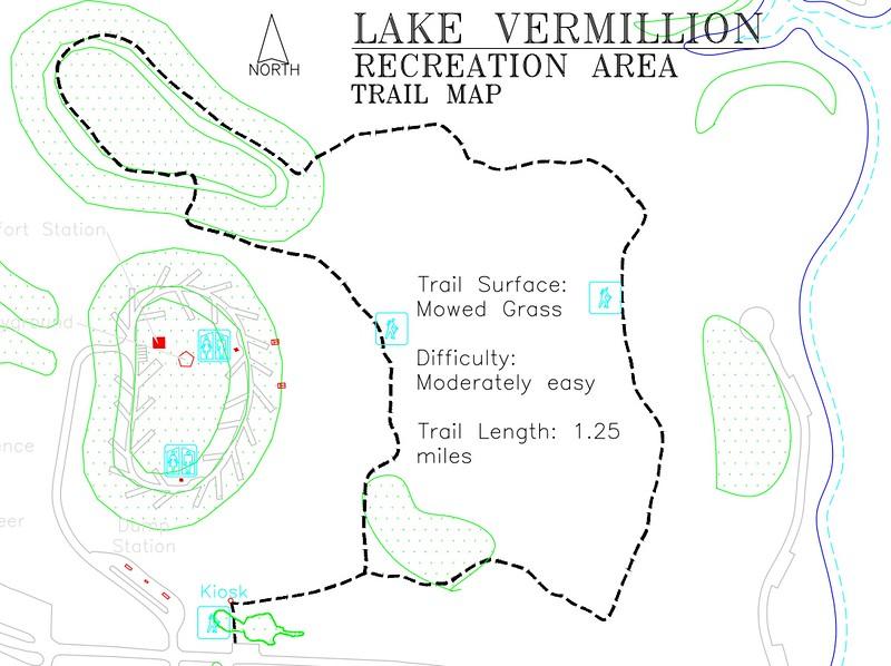 Lake Vermillion Recreation Area (Trail Map)