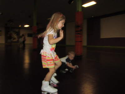 Lacy Turns 5 - Skate Party!