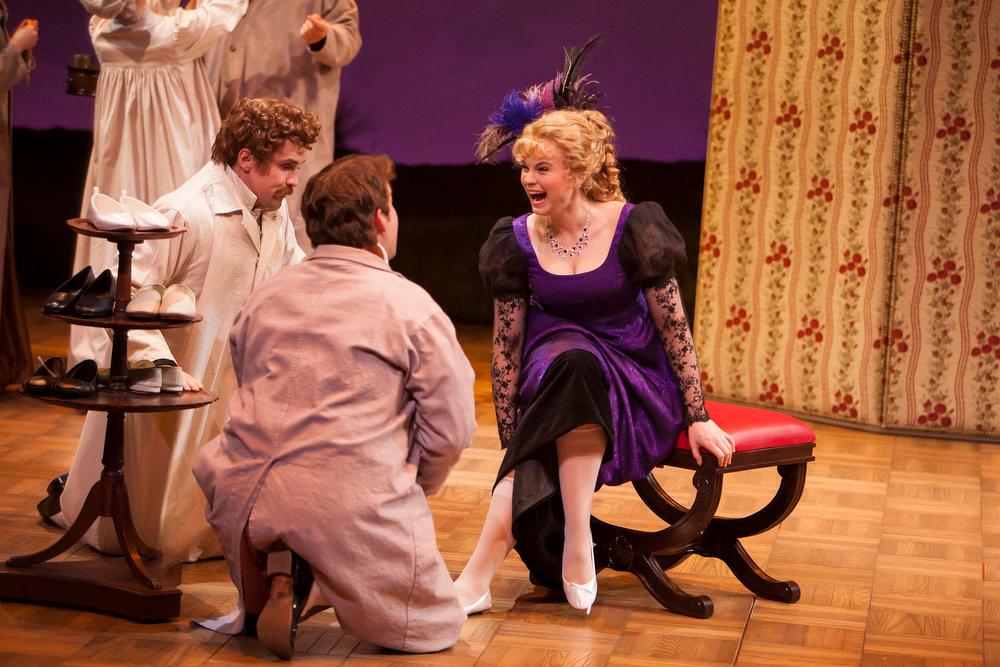 ". Scene from Denver Center Theatre Company\'s world premiere of \""Sense & Sensibility The Musical.\""   Photo by Jennifer M. Koskinen"