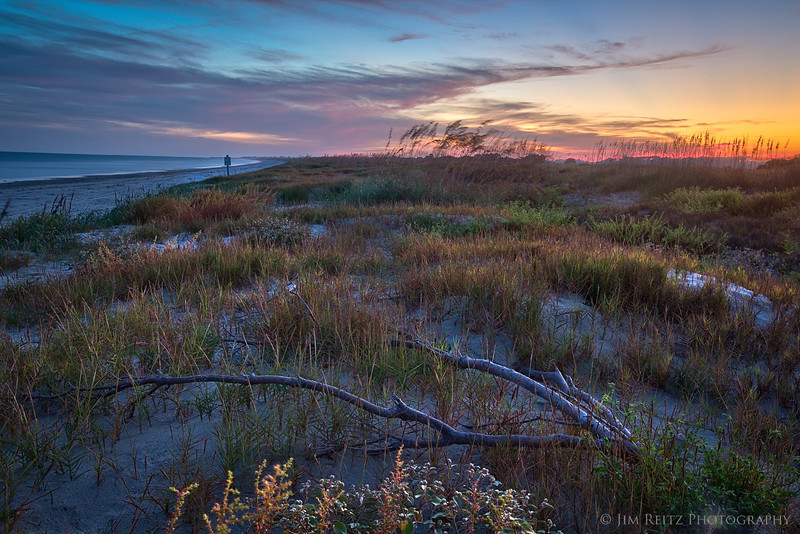 Sunset on the dunes - Kiawah Island, South Carolina