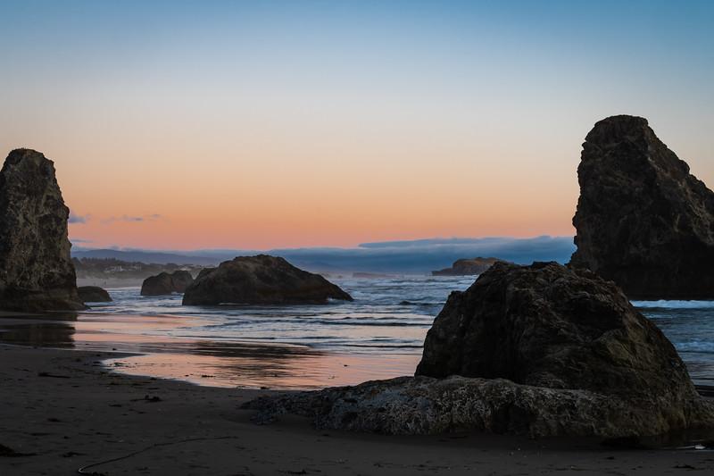 Bandon Beach South sunset 2 070618.jpg