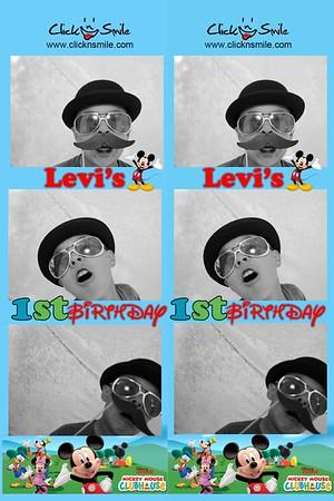 Levi's 1st Bday
