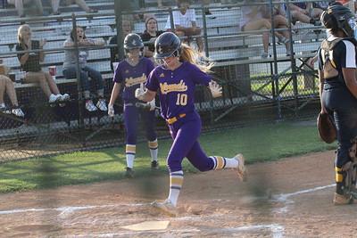 Softball vs. Eagles Landing