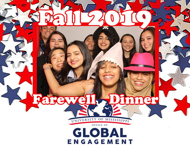 Ole Miss Study Abroad Fall 2019 Farewell Dinner