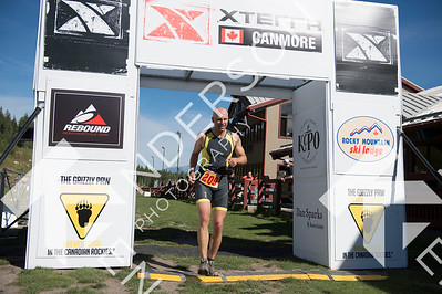 2016 Xterra Canmore Finish