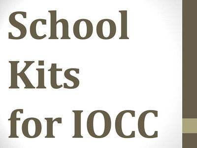 School Kits for IOCC