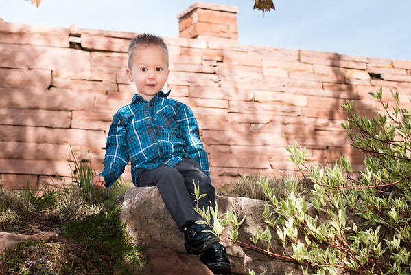 2017-04 Family Portraits at Red Butte Gardens