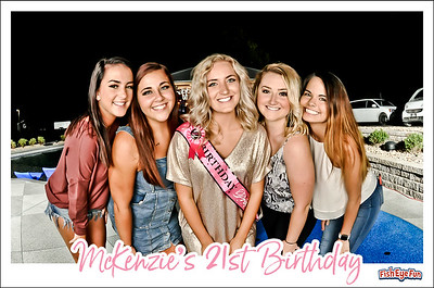 9/21/19 - McKenzie's 21st Birthday Party