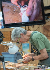 The Art of Violin Making Part I:  Carving the Scroll - Art & Geometry with David Finck